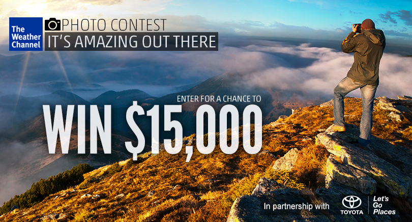 Photo Contest: Weather Channel & Toyota's