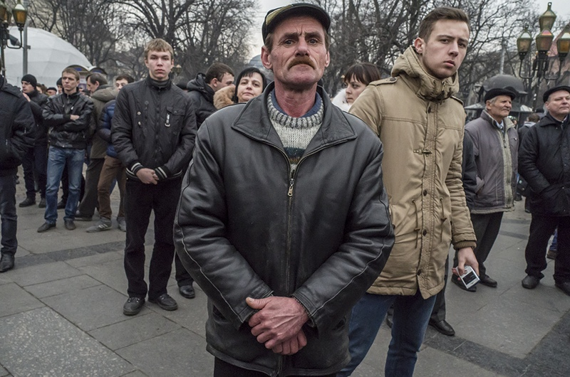 Open public gathering in support of the revolution, Lviv