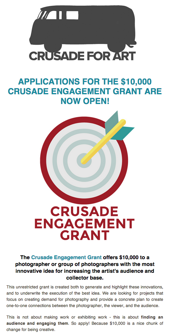 Crusade Engagement Grant