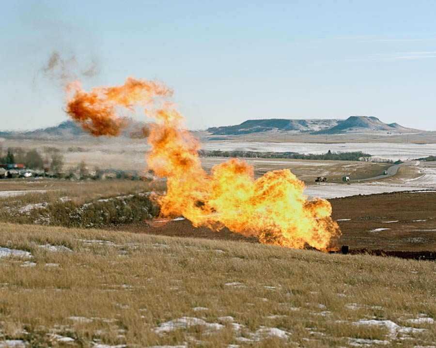 """from the series """"When the Landscape is Quiet Again:  North Dakota's Oil Boom"""""""